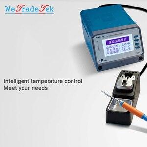 Image 4 - TOOR 75W T12 11 Lead Free Soldering Station Intelligent Temperature Control 3 Seconds Fast Heating Auto Sleep BGA Rework Station