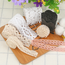 One Meter Cotton Lace Openwork Fabric Handmade DIY Accessories Curtain Tablecloth Sofa Clothing Decorate