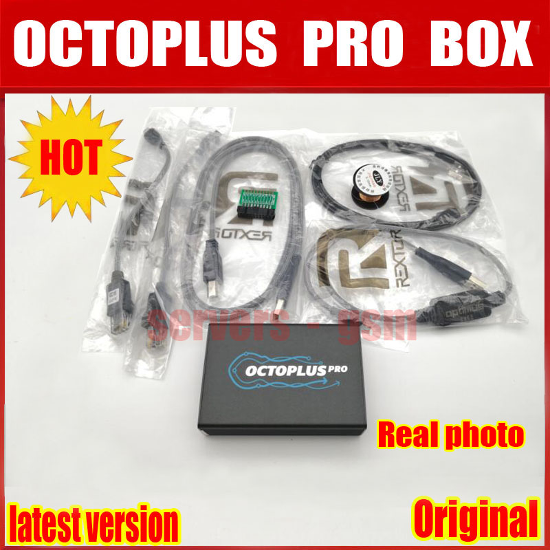 US $292 9 |2019 New Version Original Octoplus Pro Box + 5 Cable Set for  Samsung for LG +eMMC/JTAG Activated-in Telecom Parts from Cellphones &
