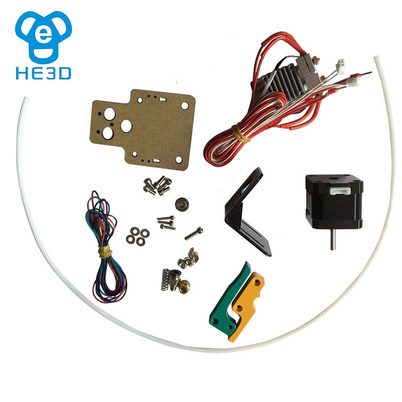 HE3D EI3 upgrade to dual extruder set kits from single extruder