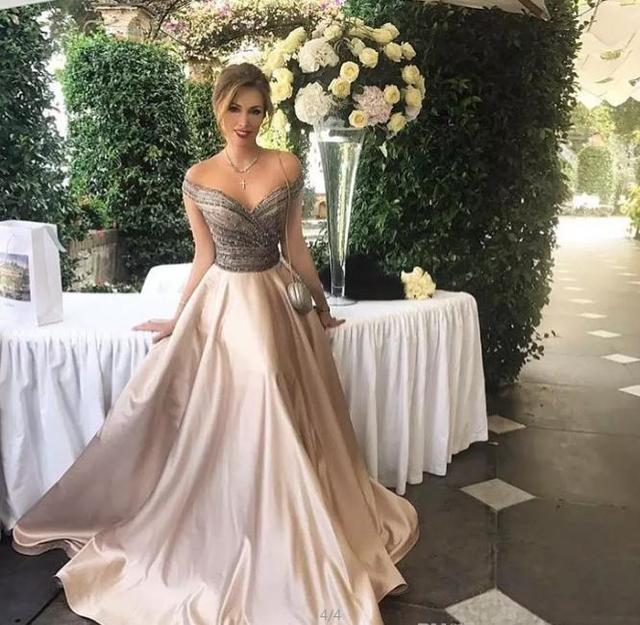 2017 White And Gold Prom Dresses For Black Girls Ball Gown Long ...