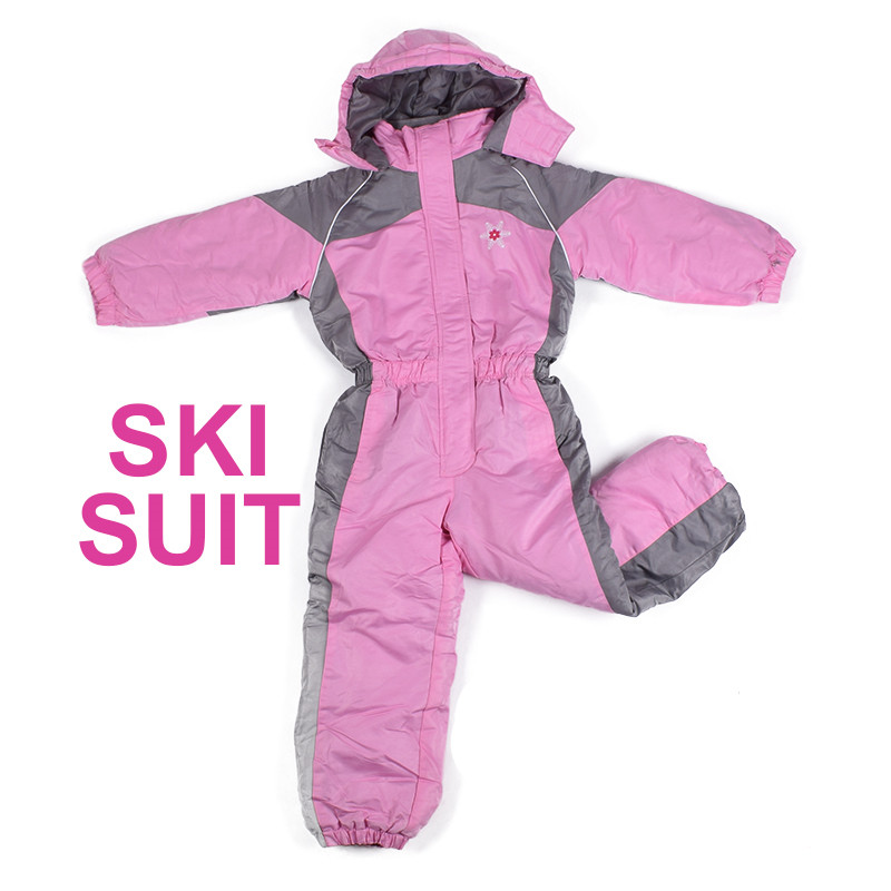 winter kids ski wear boys outdoor waterproof coat big child thick ski suit girls overall windproof jumpsuit cotton padded
