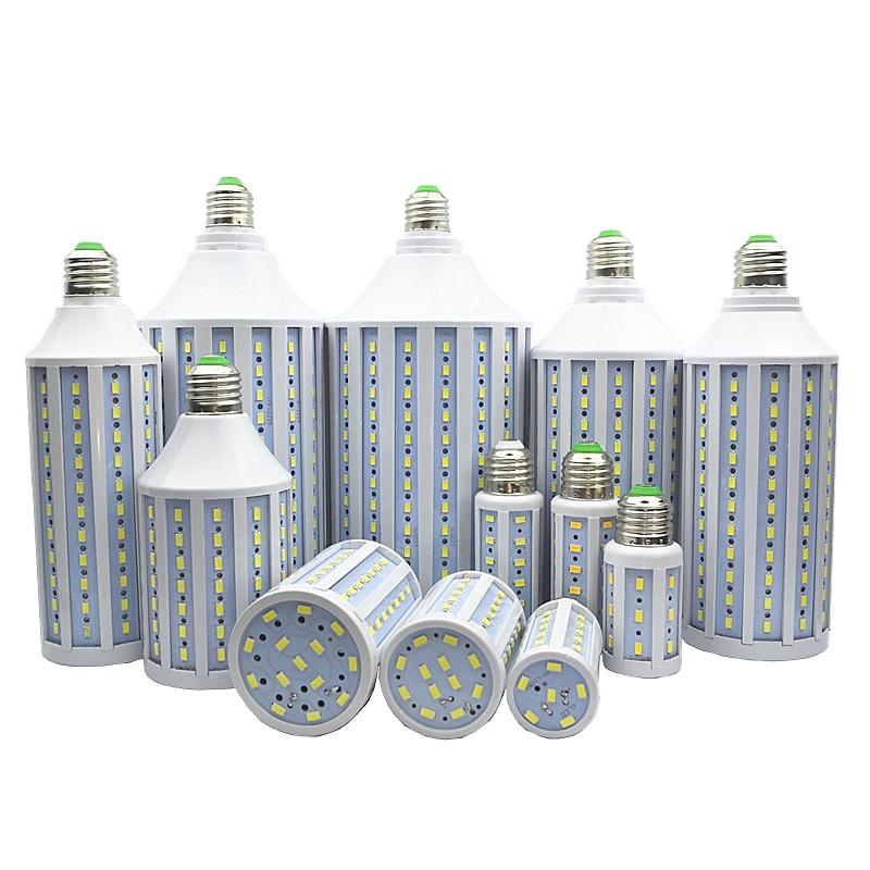 1pcs/lot corn bulb LED Corn light led bulb lamp 5730 30W 40W 50W 60W 80W 100W LED Lamp E27 E40 B22 E14 85-265V/AC