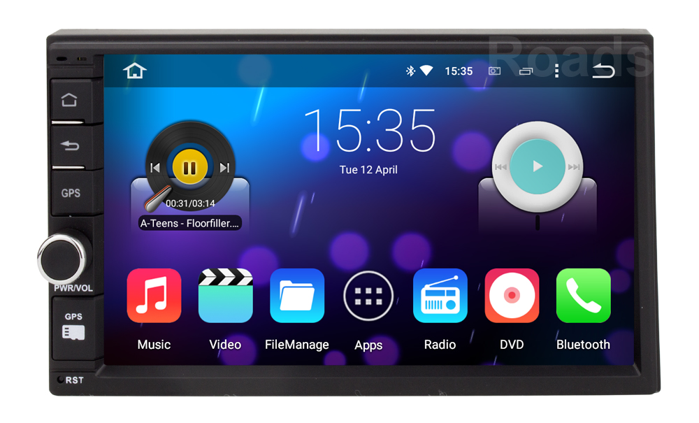 android 5 1 1 2 din Universal Central Multimedia font b Car b font DVD Player