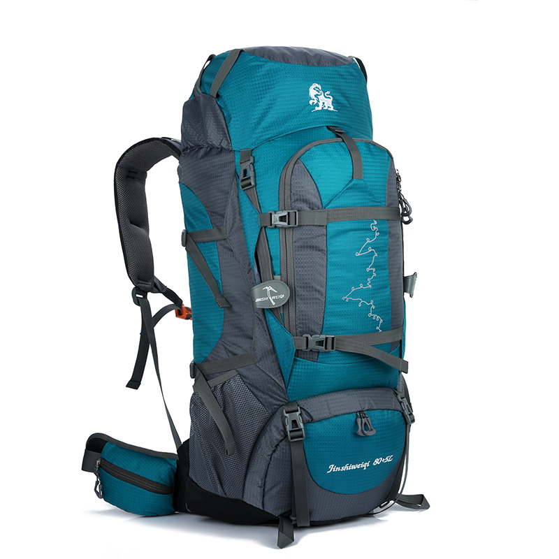 Large 85L Outdoor Multipurpose Climbing Backpack Travel Hiking Big Capacity Rucksacks Nylon Camping Waterproof Sports Bags