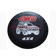 1 ШТ. Новые Аксессуары Для Автомобилей 4WD 4X4 серии автомобильные запасные покрышки 14 15 16 17 дюйм(ов) запасной чехол Для шины Для универсальный CY-63