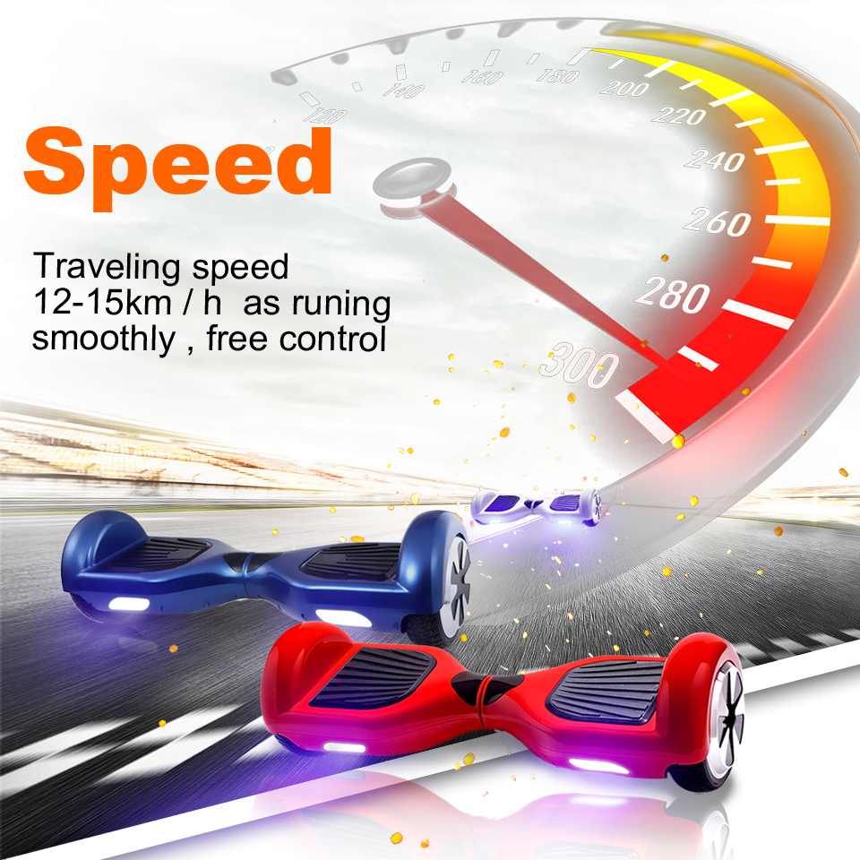 6.5 inch Bluetooth Electric Smart Self Balance Hover Board Scooter Hoverboard Two Wheels Skateboard European warehouse