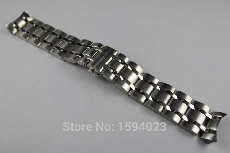 купить 22mm T035407 T035410 New Watch Parts Male Solid Stainless steel bracelet strap Watch Bands For T035 по цене 1808.73 рублей