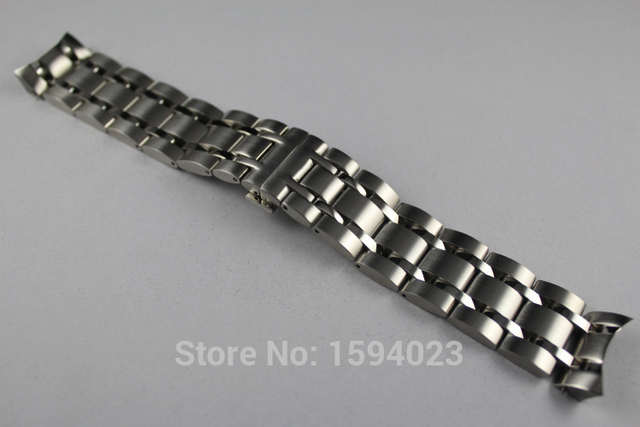 22mm T035407 T035410 New Watch Parts Male Solid Stainless steel bracelet strap Watch Bands For T035
