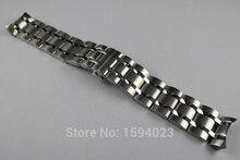 22mm T035407 T035410 Nuevas Piezas de Reloj Hombre pulsera de acero Inoxidable Sólido Correas de Reloj correa Para T035