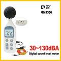 RZ Новый цифровой измеритель уровня звука измерители шума Тестер GM1356 30-130dB ЖК-дисплей A/C быстрый/медленный дБ экран USB + программное обеспечен...