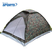 2015 Cheap Price New Camouflage Outdoor Double Tent Hiking Beach Fishing Mountain Equipment Camping Tent