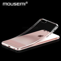Transparent Cases For Iphone 6 Case Silicone Cover For 6S Iphone Case Luxury Tpu Soft Cases