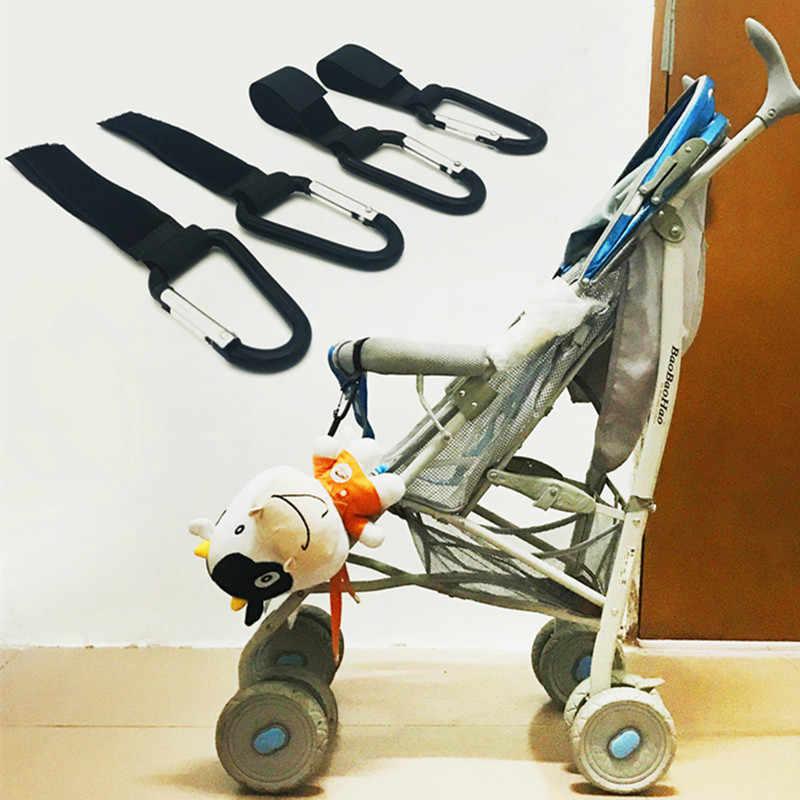 อุปกรณ์รถเข็นเด็กทารกพลาสติกทารกรถ Hook สีสุ่มหมี 35 kg Magic Stick Hook Pram แขวนแขวน