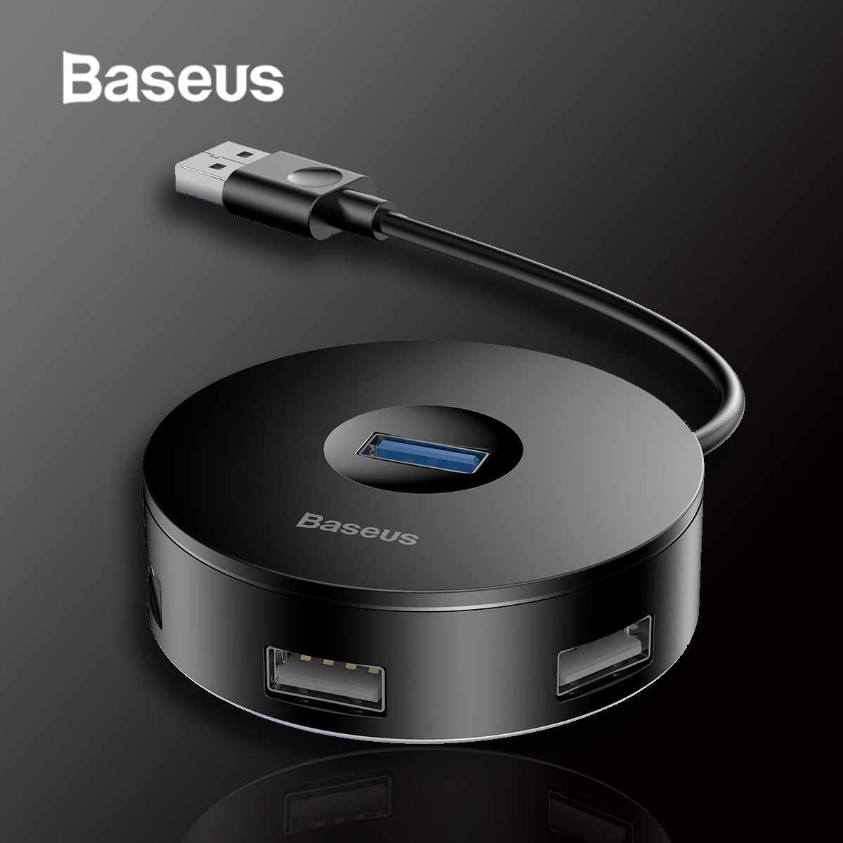 Baseus USB 3.0 4-Port USB Hub 5 gb/s Adapter HUB USB typu C dla Huawei komputer PC Macbook typu C Hub USB 3.0