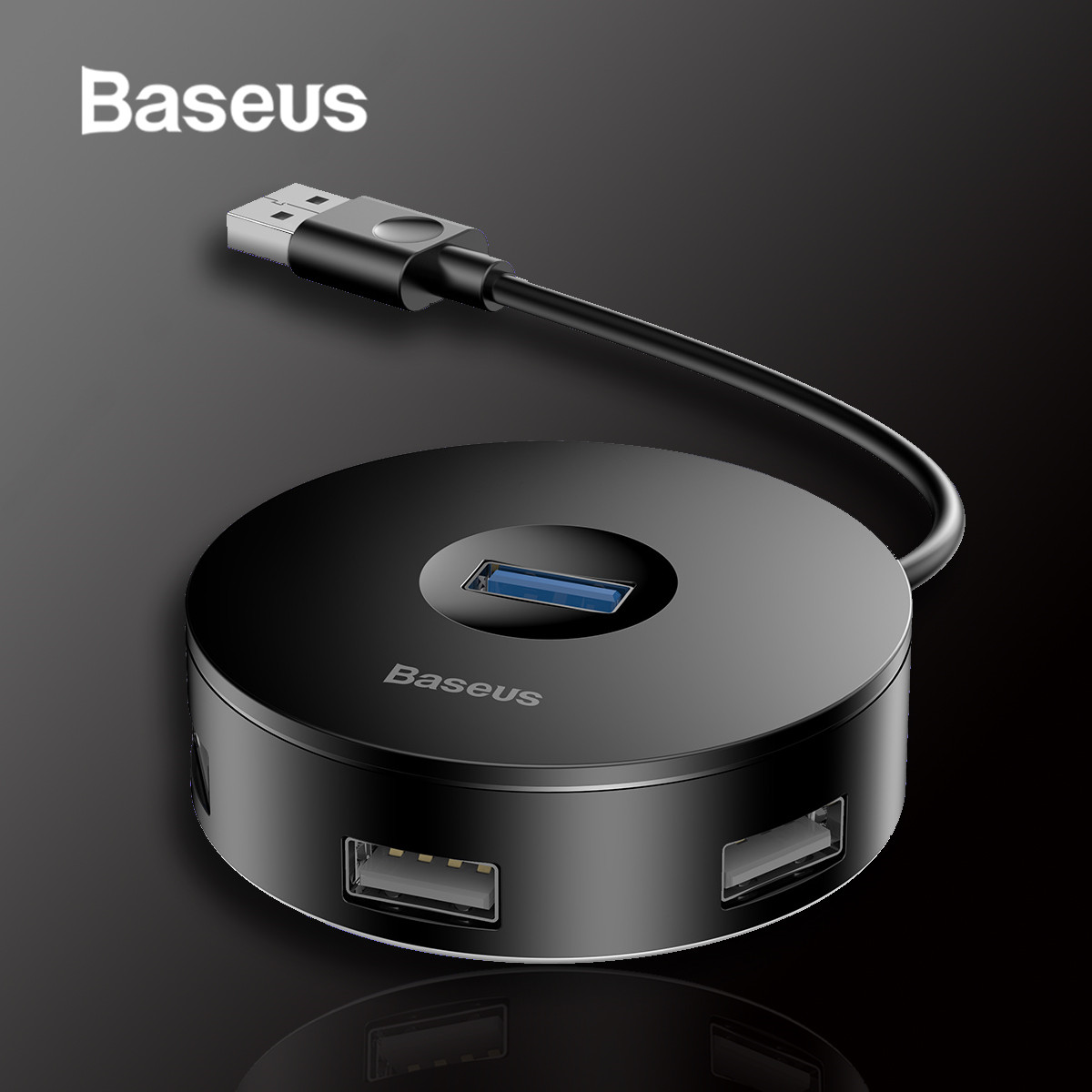 Baseus USB 3.0 4-Port USB Hub 5Gbps Adapter USB Type C HUB For Huawei Computer PC Macbook Type C USB 3.0 HUB
