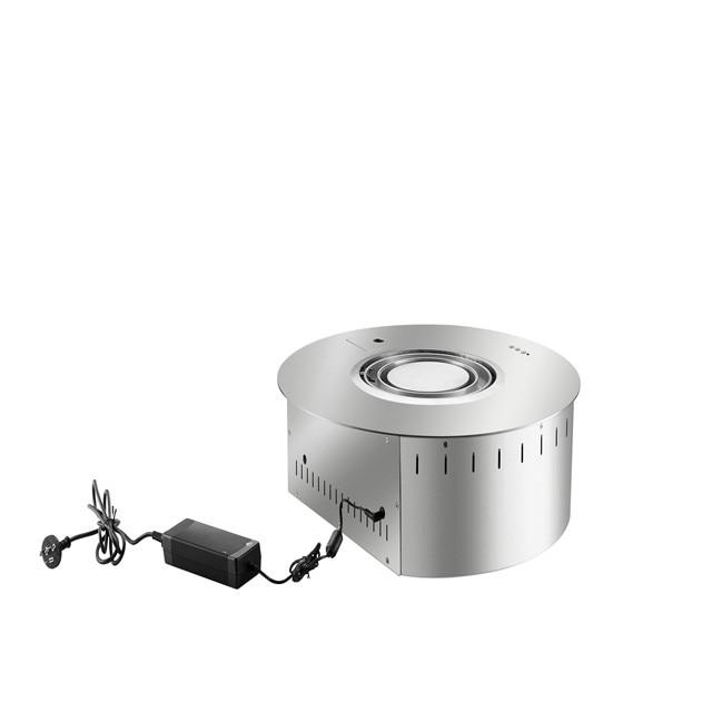 550mm Wifi Intelligent Auto Smart Round Bioethanol Fireplace