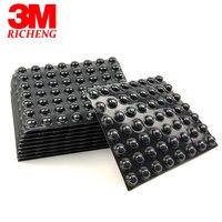 (3000 unids/lote) negro 3 M bumpon sj5003 goma auto-adhesivo pie, forma semiesférica, ser utilizado como Pies, paradas y espaciadores