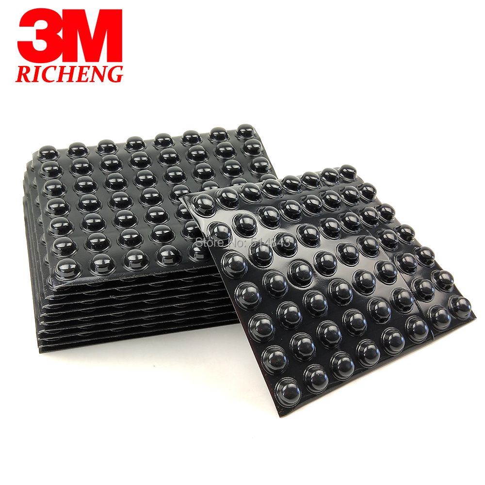 (3000pcs/lot) Black 3M Bumpon SJ5003 Self Adhesive Rubber Foot, Hemispherical Shape, Be Used As Feet, Stops And Spacers-in Gaskets from Home Improvement    1