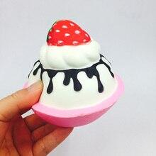 POPOKi 2pcs/set squishy strawberry CUTE CAKE slow rising