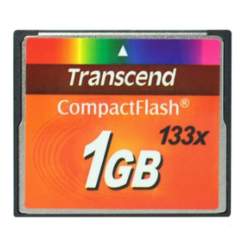 1GB Transcend 133x Compact Flash Tarjeta de memoria CF