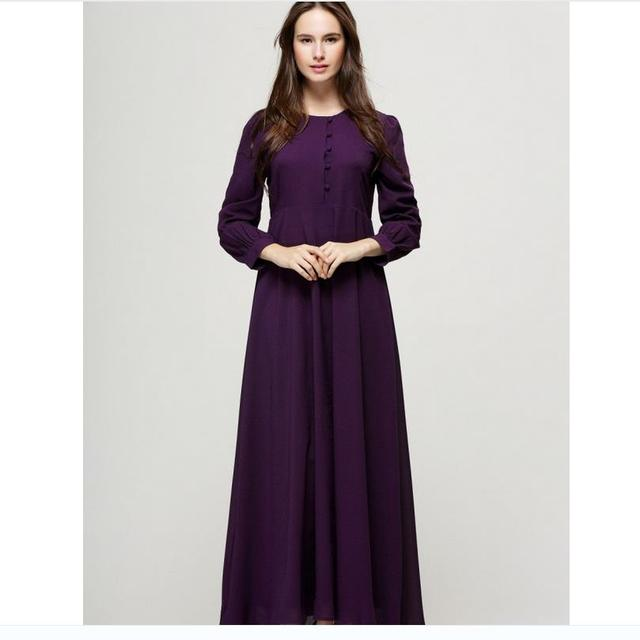 Chilaba Para Adultos Para Las Mujeres de La Venta Ropa de Mujer Y Abayas Musulmanes Abaya Turco 2016 Real Hembra Estilo de Vestir de manga Larga servicio W126