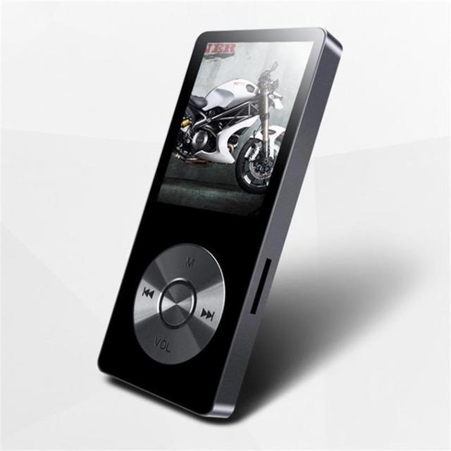 2017 aleación de benjie k9 con altavoz reproductor de música mp3 8 gb $ number horas Sin Pérdidas de alta Calidad Grabadora de Voz FM Radio de la Ayuda 64 GB TF Tarjeta de