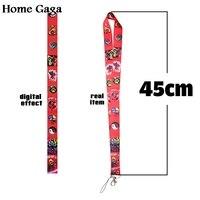 Дома Гага индивидуальные телефон ключ брелок шнурки лямки с вашим конструкции или логотип