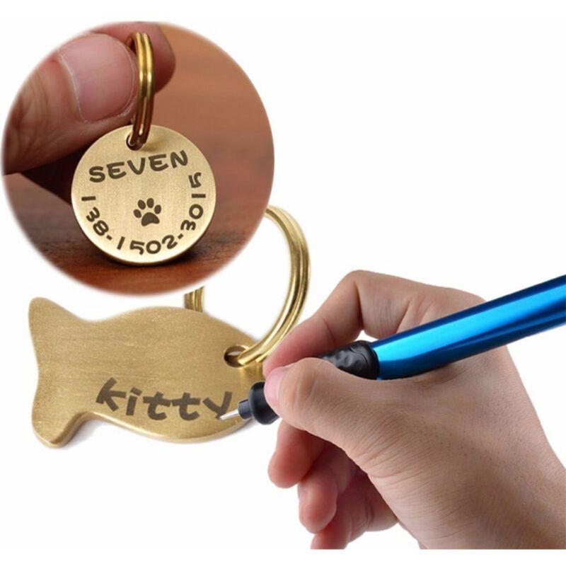 Micro Engraver Tool Engraver Pen DT02 Metal Engraver Glass Jewelry Wood Engraving Pen Blue Lettering Pen Dorp Shipping
