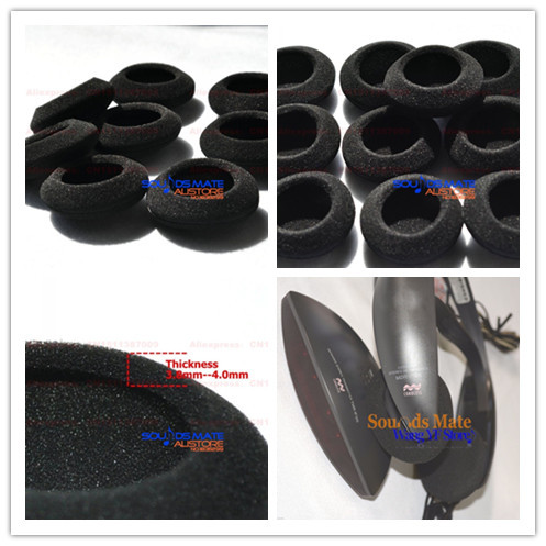 5 pairs of foam ear pads foam cushion cover for sony mdr if120 mdr rh aliexpress com