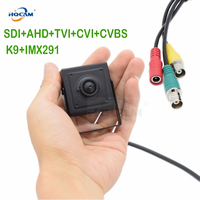 HQCAM 1080P 1/3 inch K9+IMX291 scan OSD Panasonic CMOS Sensor SDI+AHD+TVI+CVI+CVBS Mini SDI Camera HD SDI cctv