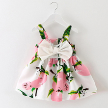 Melario Baby Dresses 2019 New Spring Autumn Baby Girls Clothes Cat Printing Girls Party Dress Princess Dress Newborn Dress