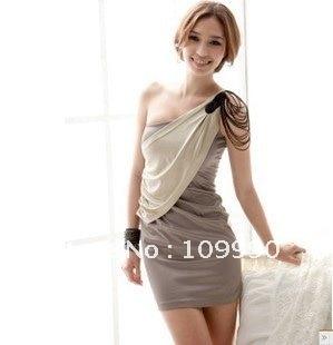 Free Shipping Noble Elegant Fashion Fold Tight Sexy