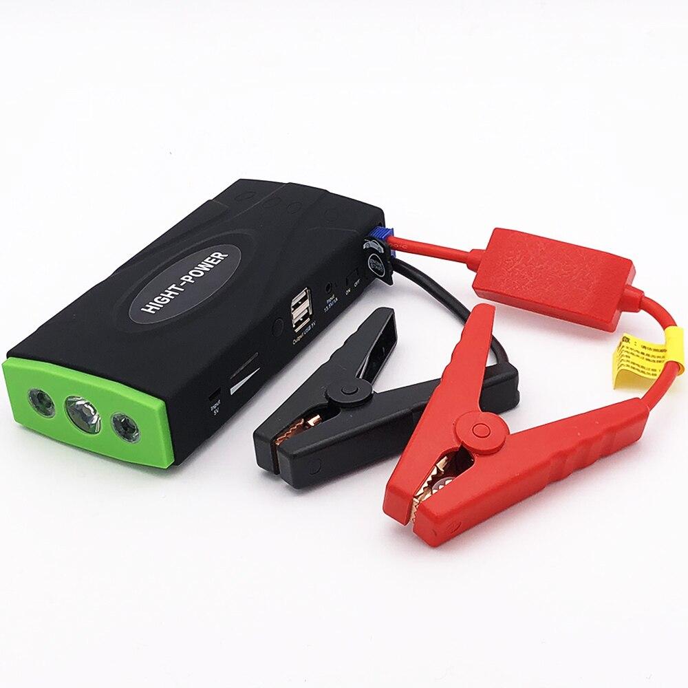 Chargeur de voiture Portable de dispositif de démarrage du démarreur 12 V 600A de cavalier de voiture de puissance élevée pour le démarreur Diesel d'essence de propulseur de batterie de voiture