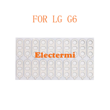 10PCS Free Shipping Original G6 Back Camera Lens Glass For LG Rear With Sticker Ahesive Replacement