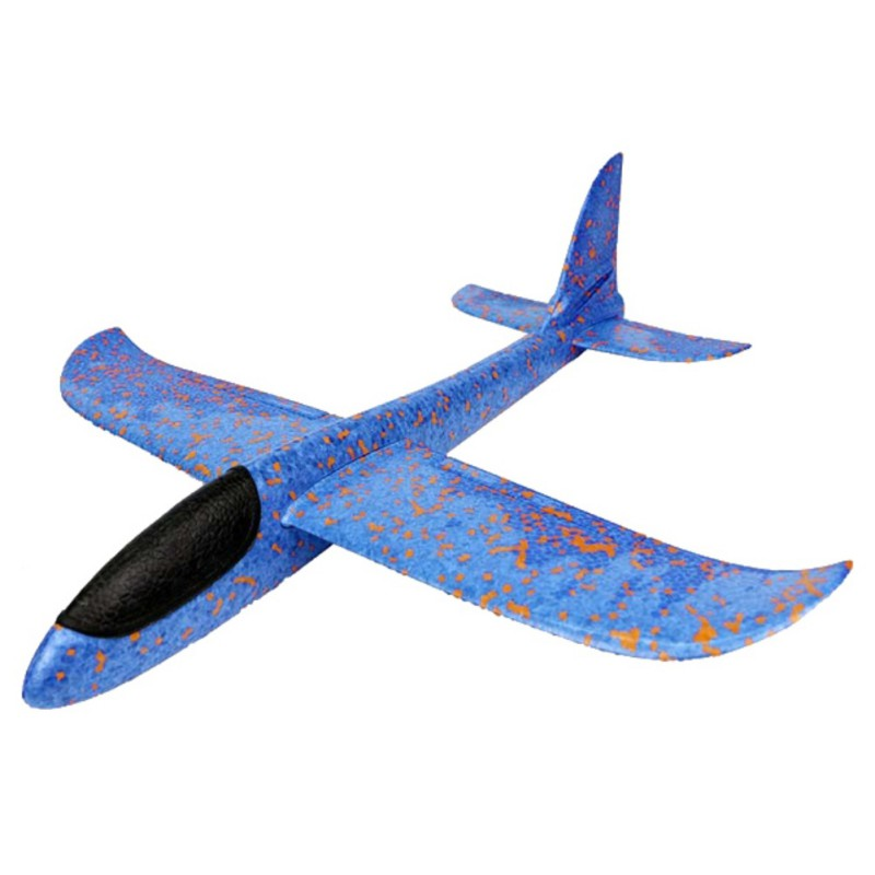 Hand Launch Throwing Glider Aircraft Inertial Foam EVA Airplane Toy Plane Model Outdoor Fun Sports Plane Model Interesting Toys