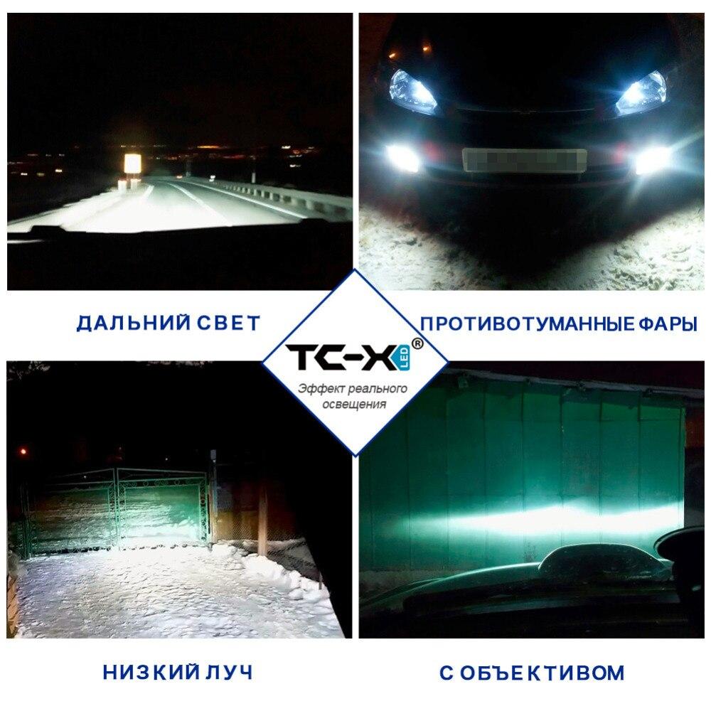 TC-X Luxeon ZES Φωτισμός LED H11 9006 / Hb4 H4 H7 H16 P13W - Φώτα αυτοκινήτων - Φωτογραφία 4