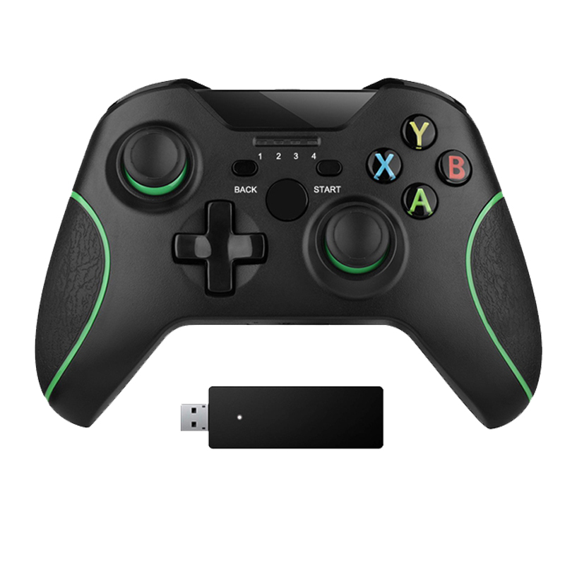 2.4G Wireless Controller For Xbox One Console For PC For Android smartphone Gamepad Joystick game console gamepad sticker full body for xbox one red