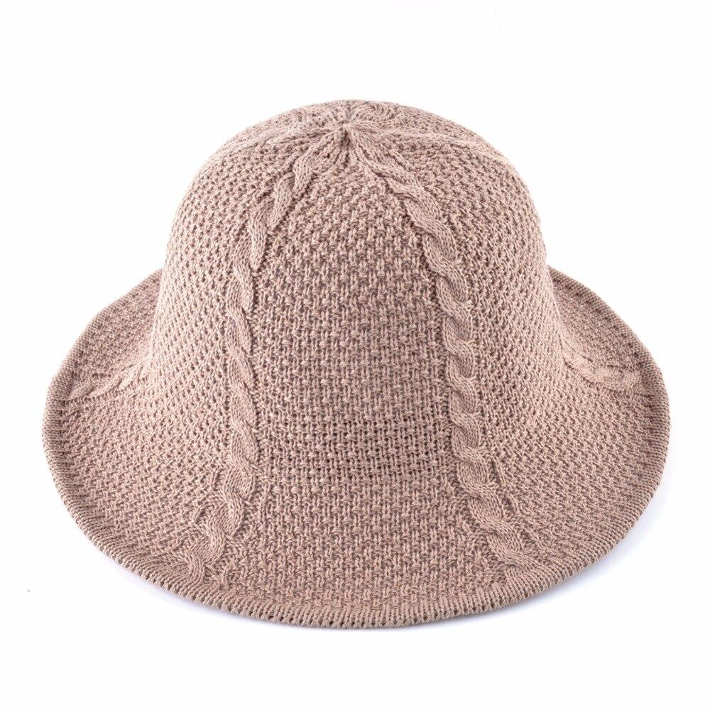 de23240a8bcc3 Women s Summer Straw Hats Men Outdoor Foldable Sun Cap Women Crocheted  Raffia Beach Hat For Women Floppy Panama Chapeau femme