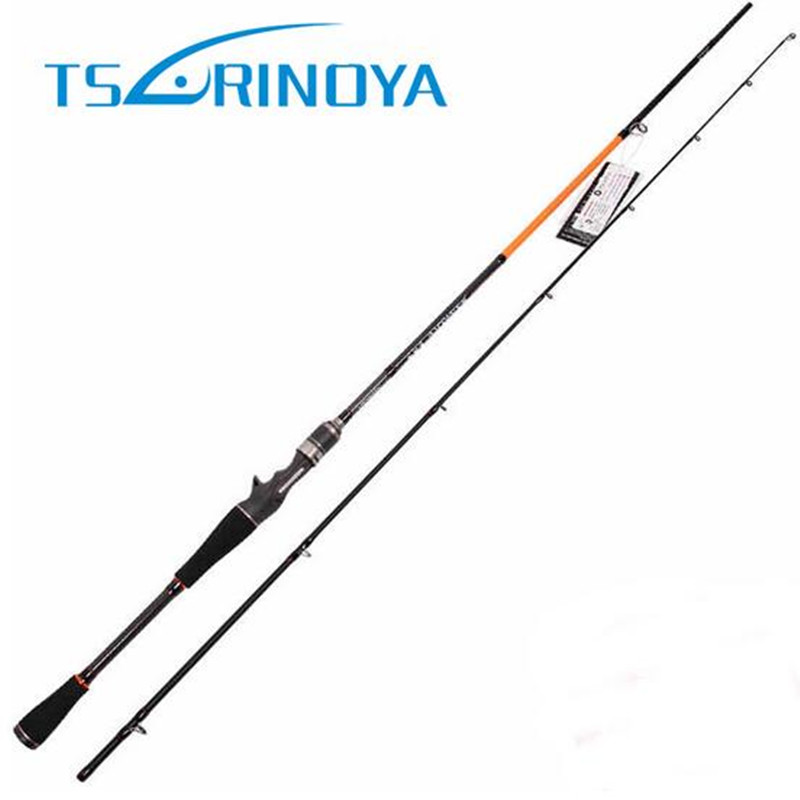 Tsurinoya 2.1M 2 Section Casting Rod M Power 5-17g Baitcasting Rod Olta Fuji Ring 98% Carbon Fishing Rods Canne A Peche Lure
