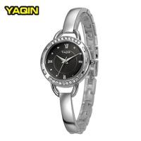 New Fashion Luxury Brand YAQIN Women S Watch Strip Trend Simple Business Casual Waterproof Quartz Bracelet