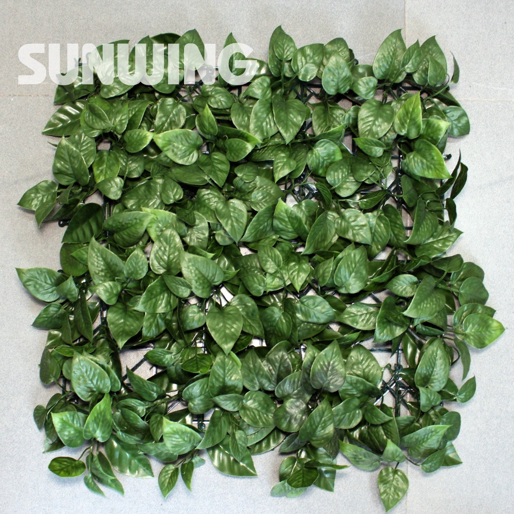 High quality green fence panels buy cheap green fence panels lots 1 sqm artificial green plant leaves fencing screening mats outdoor uv plastic boxwood hedges panels outdoor baanklon Choice Image