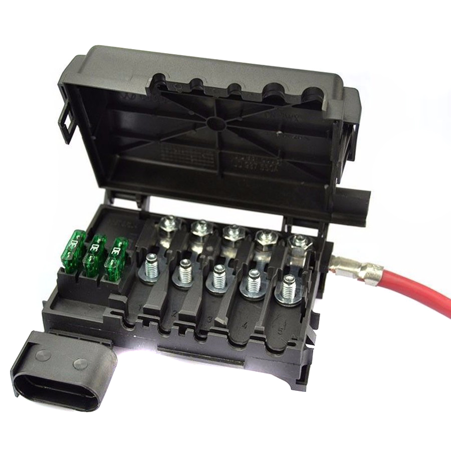 tuke oem battery fuse box assembly fit for vw octavia seat leon battery fuse box battery fuse box [ 900 x 900 Pixel ]