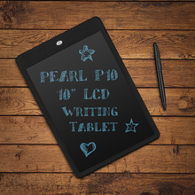 Wholesale Parblo Pearl P10 10″ Ultra-thin LCD Writing Tablet Portable E-Writer Paperless Notepad with Erazer Lock Button Black