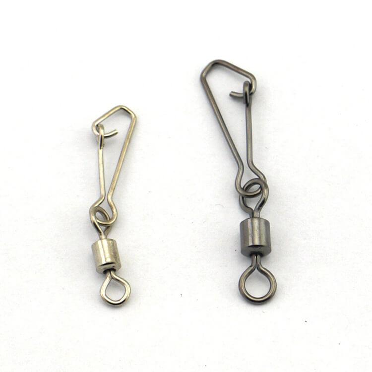 40 x Medium BAIT /& Lead Weight Link Clip