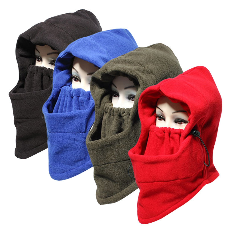 Winter Outdoor Skullies & Beanies Riding Windbreak Caps Man Women CS GAME Skull Face Mask Neck Warmer Hats Hiking Ski Mask Hats