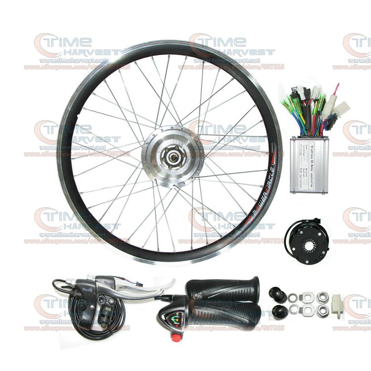 350W 24V electric mountain bike motor 26 Bicycle wheel electric bicycle kit With DC 24V Controller Electric Bike conversion set pasion e bike 28 road bike utility bicycle electric conversion kit 48v 1500w rear wheel motor 7 speed freewheel sensor brake