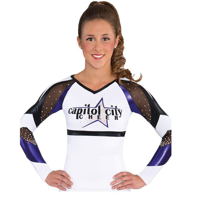 Competion Professional Lycra Cheerleader Uniform male female Performance outfit Sport Costume sets