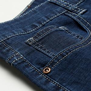 Image 5 - 2020 גברים של סתיו חורף כותנה ג ינס גברים למתוח עסקי מכנסיים אופנה מכנסיים ג ינס ז אן Mens ג ינס גדול גודל 35 40 42 44 46