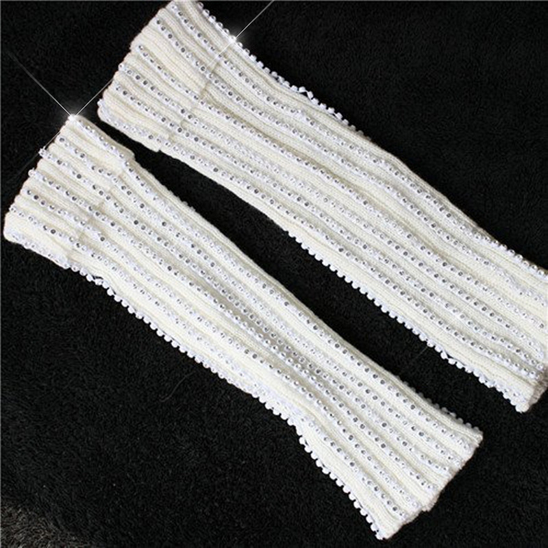 Rare Fashion Crystal MJ Micheal Jackson Billie Jean Baggy Ankle Socks handmade 100% For Collection Show